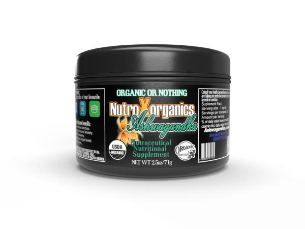 Ashwaganda- Nutraceutical - NutroXorganics