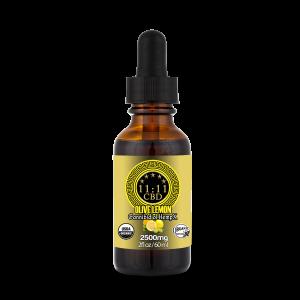 11:11 CBD Certified Organic Lemon & Olive Tincture 2500mg